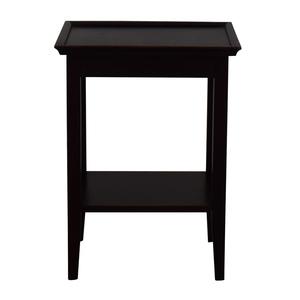 Crate & Barrel Crate & Barrel Bradshaw Side Table discount