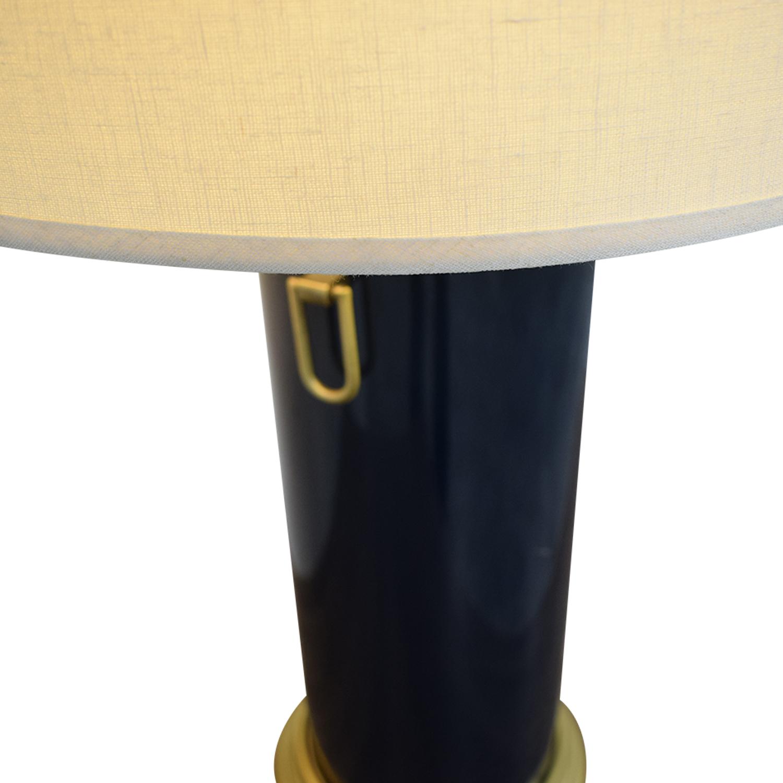 buy Pottery Barn Navy Table Lamp Pottery Barn Decor