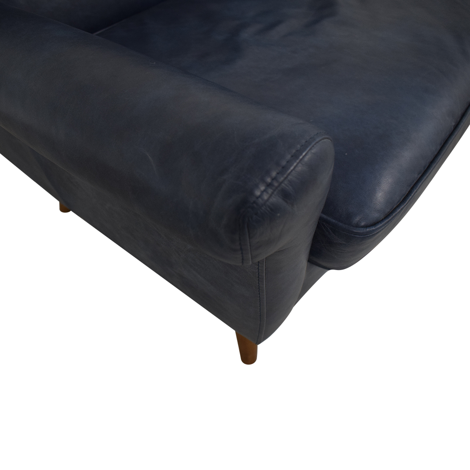 West Elm West Elm Denmark Navy Loveseat coupon