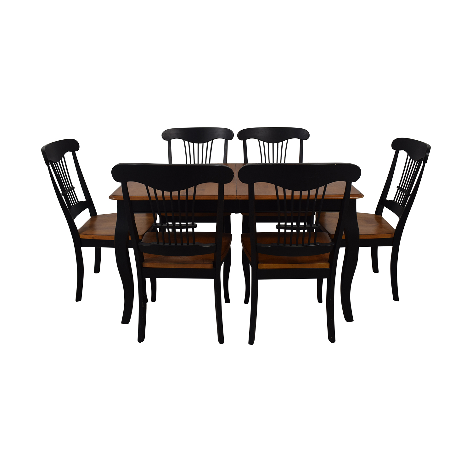 Raymour & Flanigan Raymour & Flanigan Dining Table and Chairs nyc