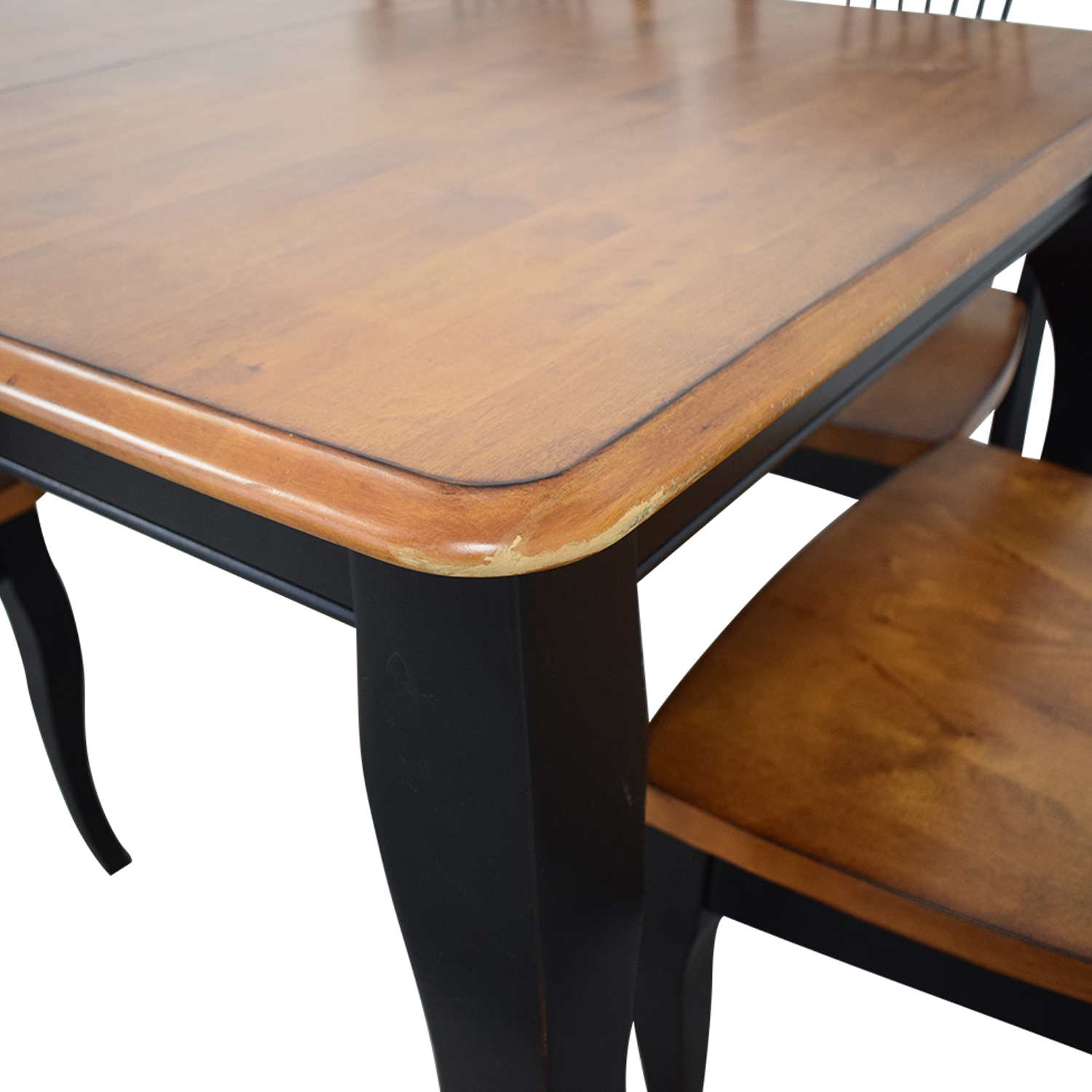 Raymour & Flanigan Raymour & Flanigan Dining Table and Chairs Tables