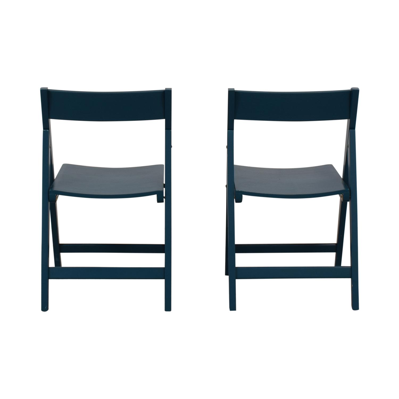 buy Blue Folding Chairs