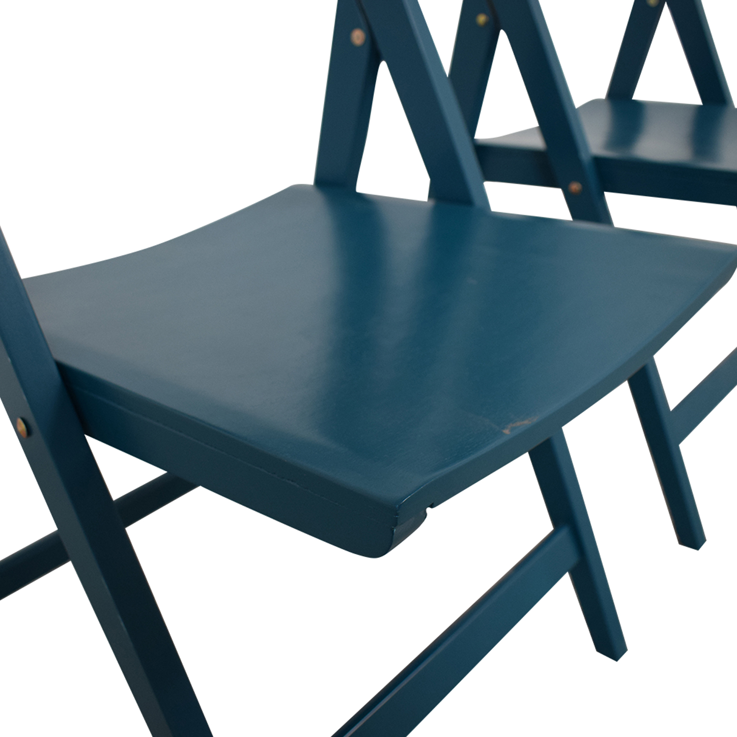 Blue Folding Chairs on sale