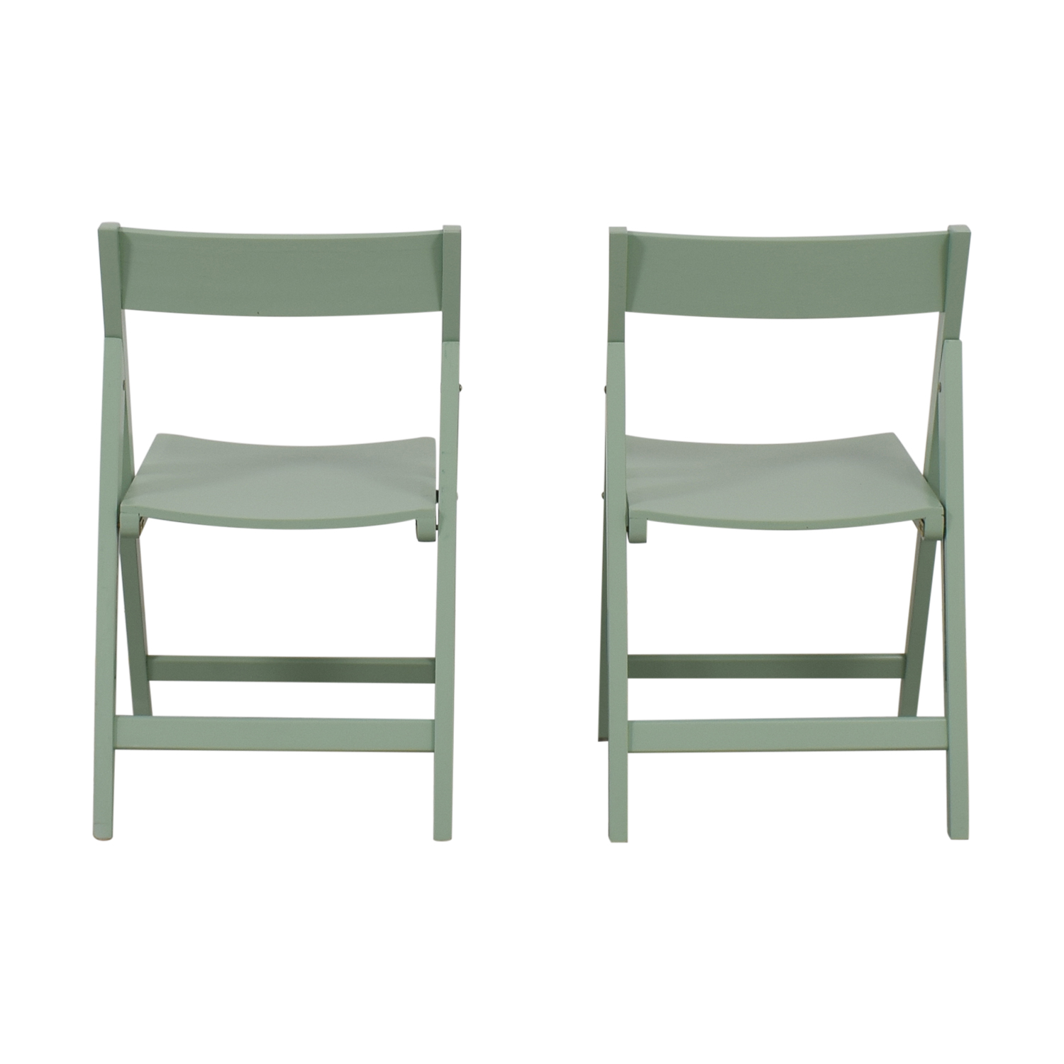 Mint Green Folding Chairs used