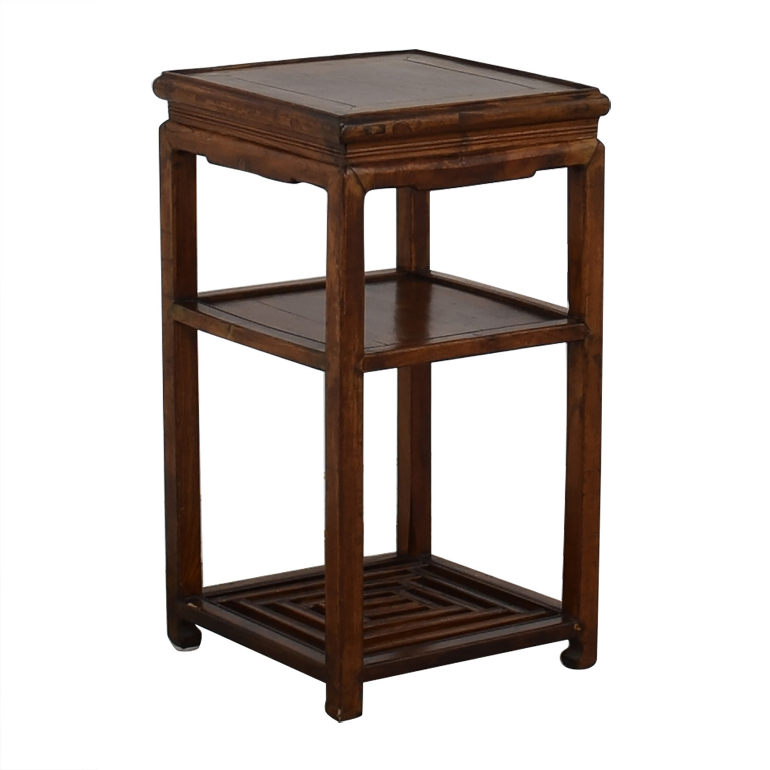 Wood Nightstand second hand