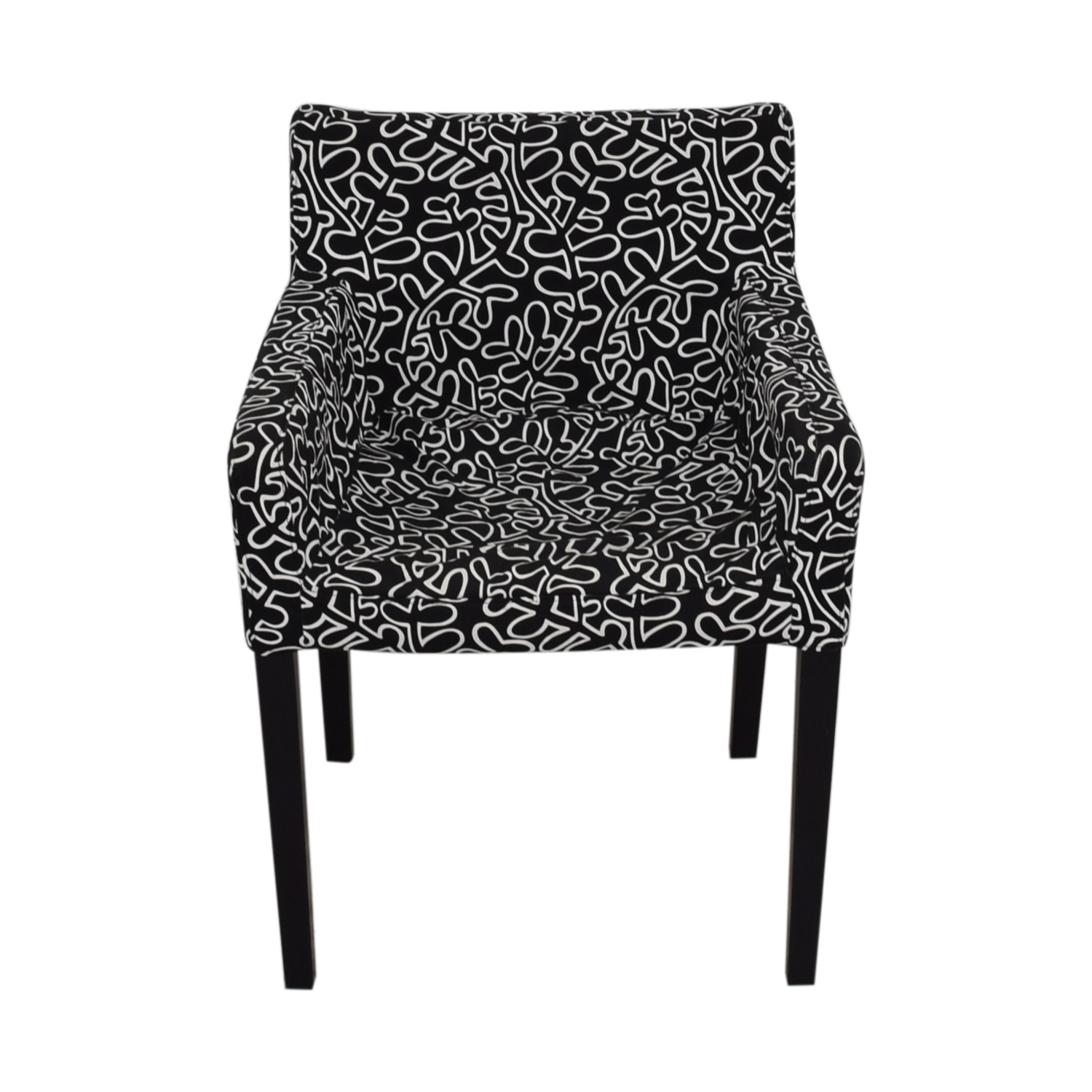 shop Black and White Print Chair  Accent Chairs