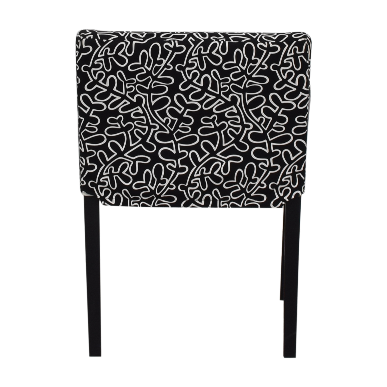 Black and White Print Chair nyc