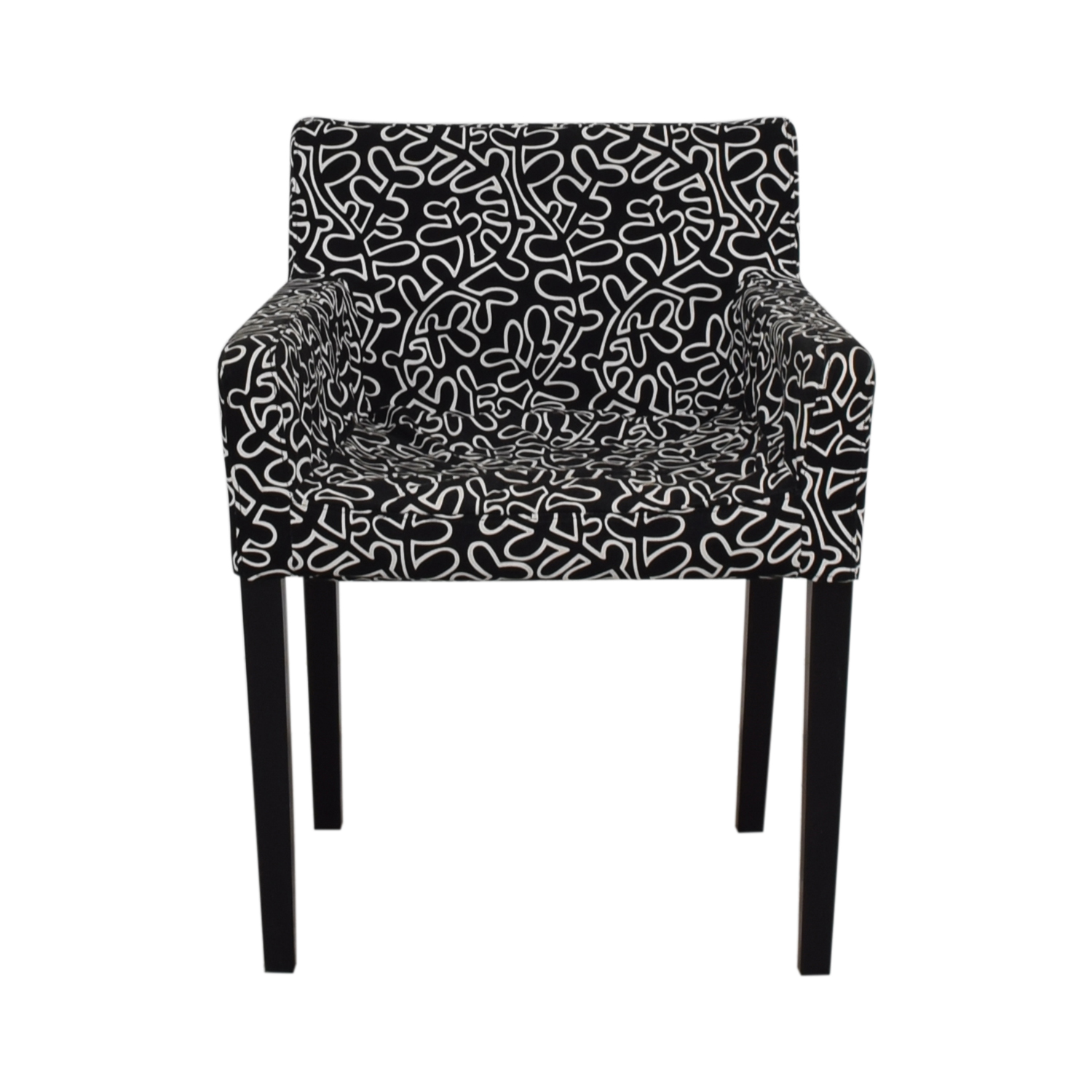 Black and White Print Chair sale