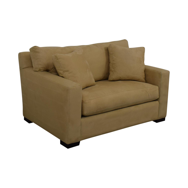 shop Crate & Barrel Axis II Twin Sleeper Sofa Crate & Barrel