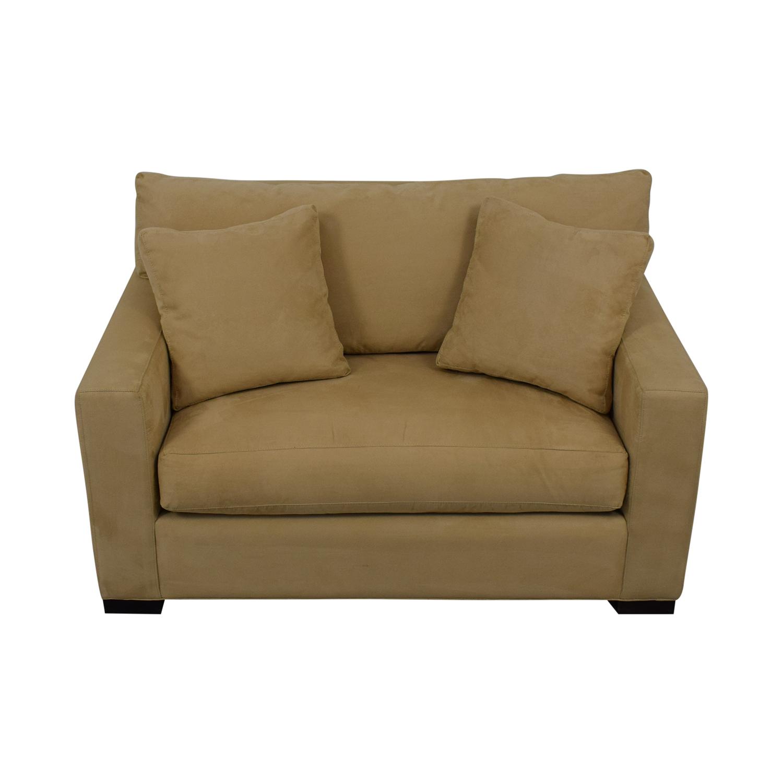 Magnificent 79 Off Crate Barrel Crate Barrel Axis Ii Twin Sleeper Sofa Sofas Cjindustries Chair Design For Home Cjindustriesco