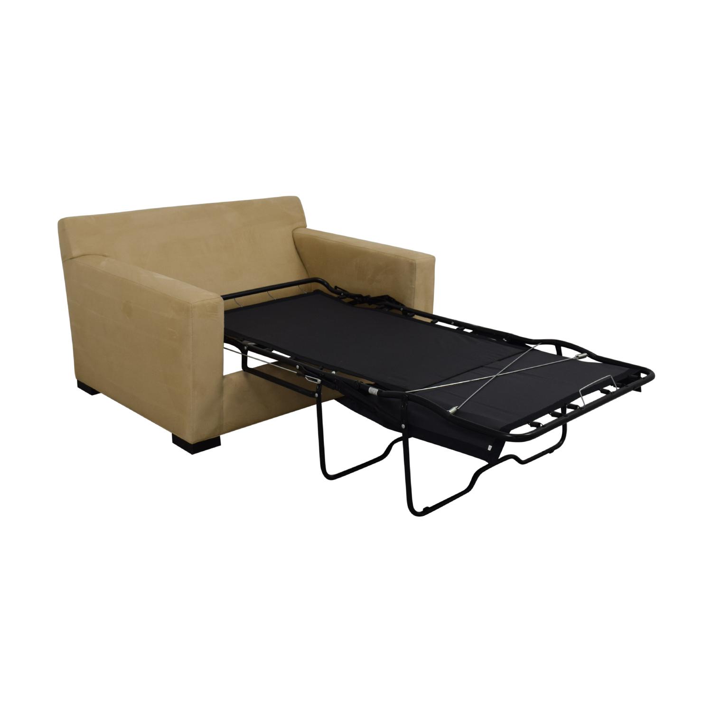 shop Crate & Barrel Axis II Twin Sleeper Sofa Crate & Barrel Accent Chairs