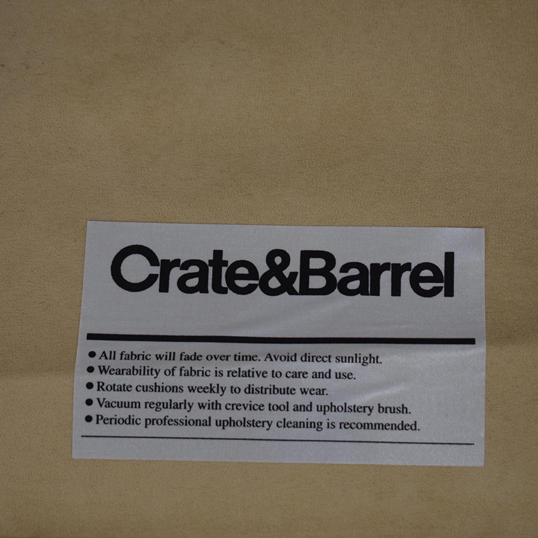 Crate & Barrel Crate & Barrel Axis II Twin Sleeper Sofa second hand