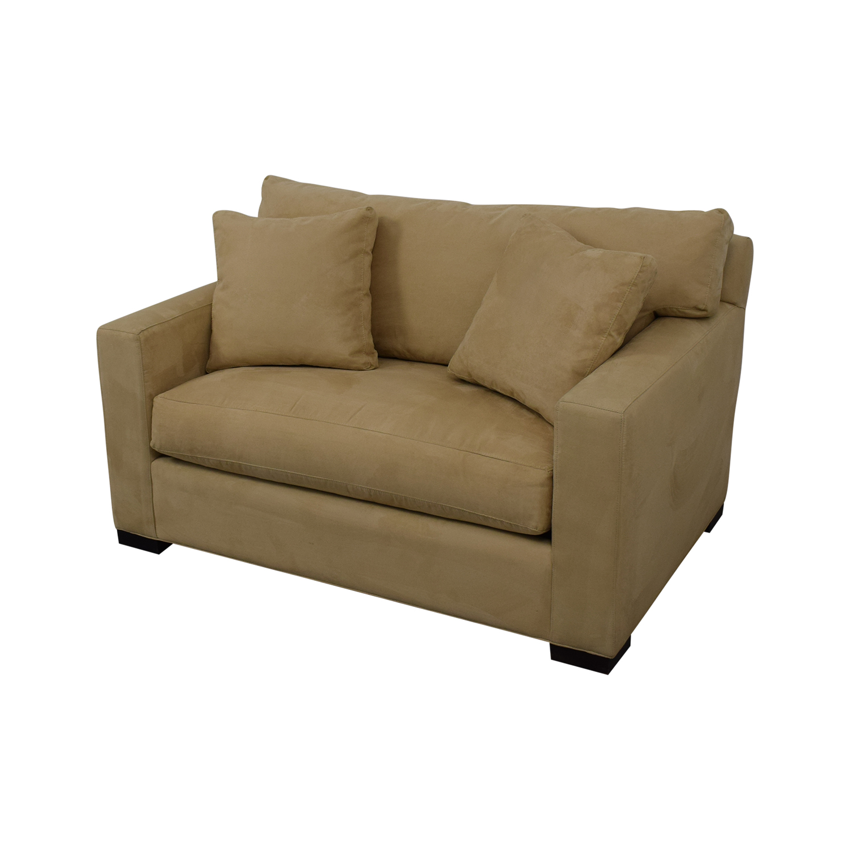Fabulous 79 Off Crate Barrel Crate Barrel Axis Ii Twin Sleeper Sofa Sofas Beatyapartments Chair Design Images Beatyapartmentscom
