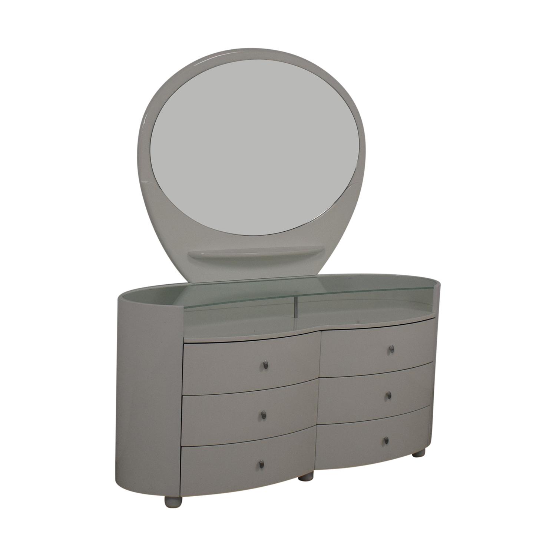 Vintage Dresser with Vanity Mirror price