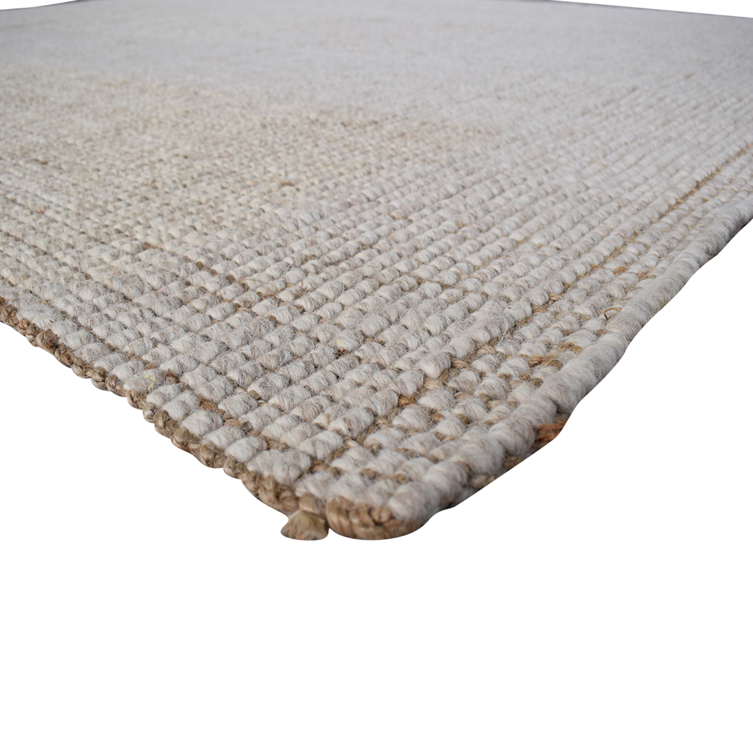 Pottery Barn Chunky Wool and Jute Rug sale