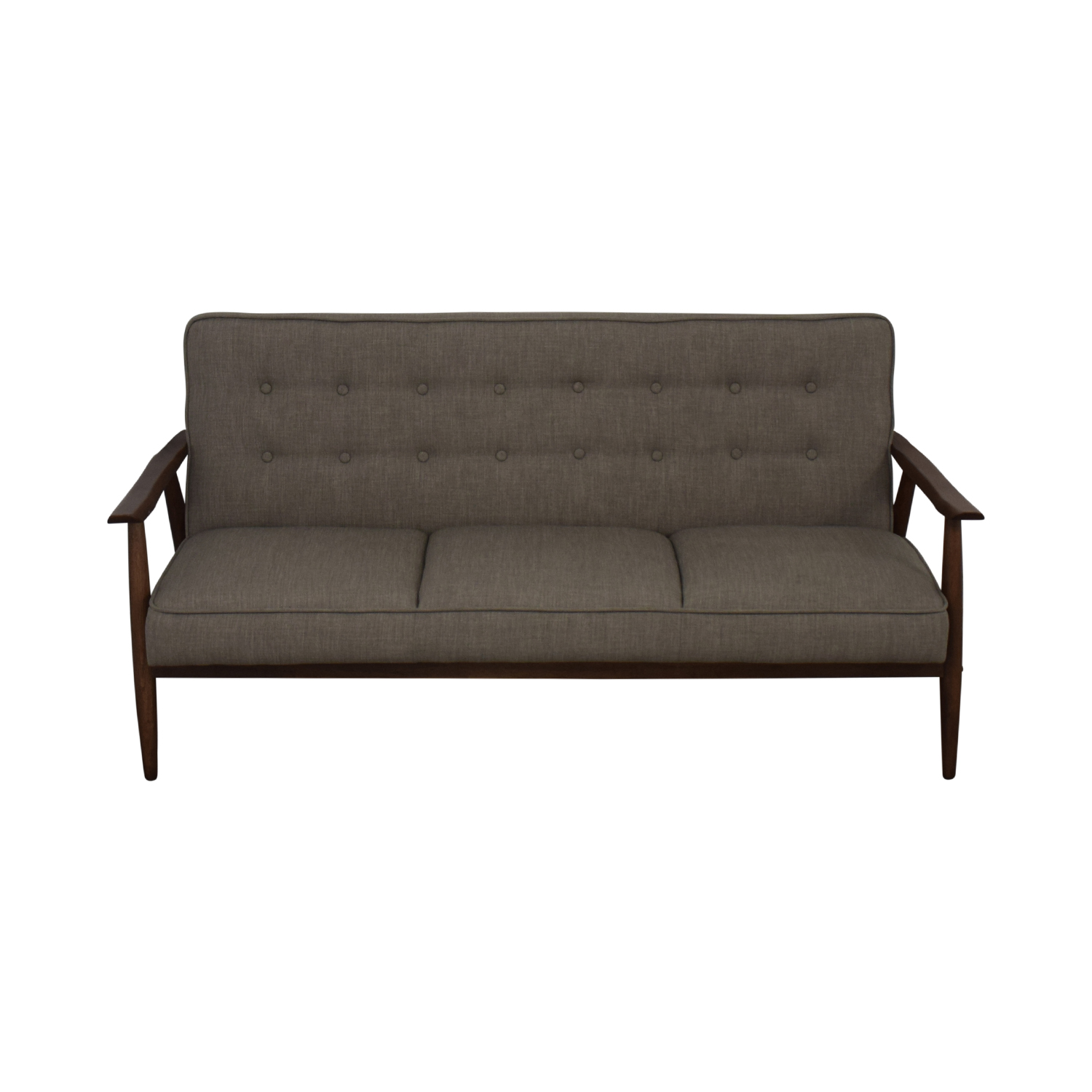 Urban Outfitters Urban Outfitters Grey Wyatt Sofa