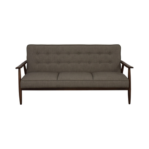Urban Outfitters Urban Outfitters Grey Wyatt Sofa second hand