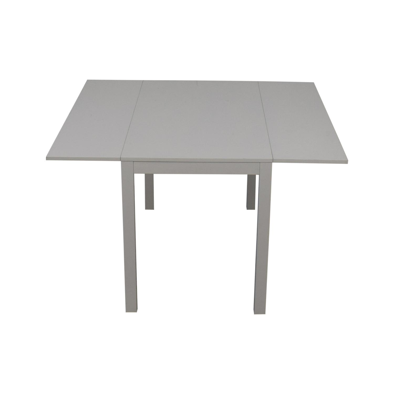 CB2 CB2 Slide Bistro Table used