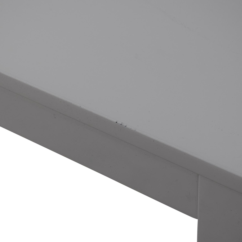 CB2 Slide Bistro Table / Dinner Tables