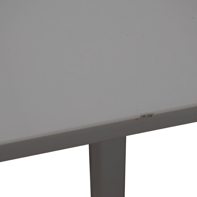 buy CB2 Slide Bistro Table CB2 Dinner Tables