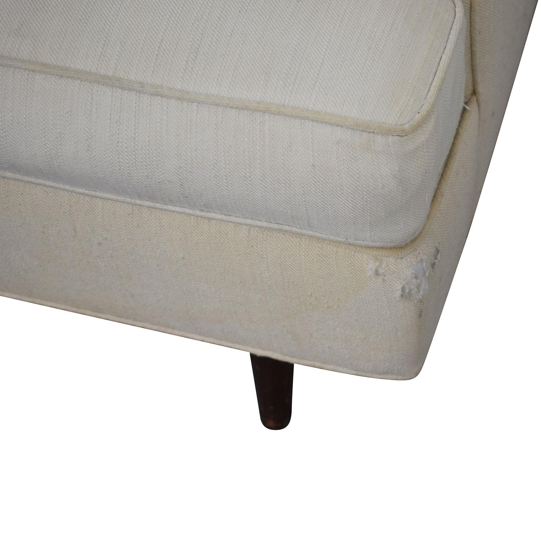 Vintage Linen Sofa on sale