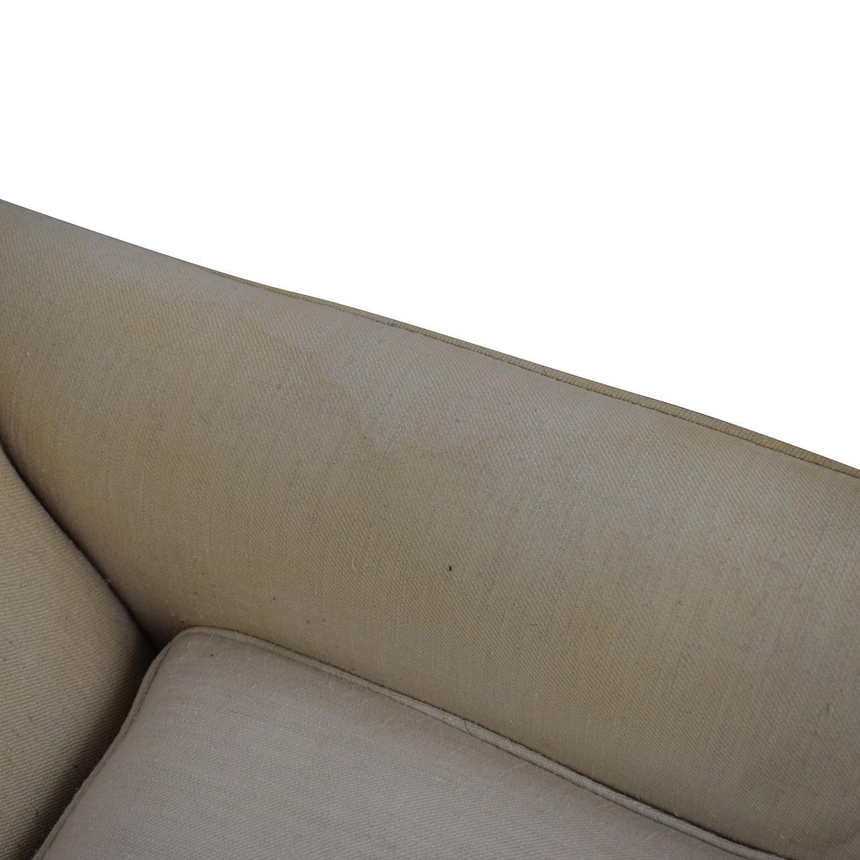 Vintage Linen Sofa / Sofas