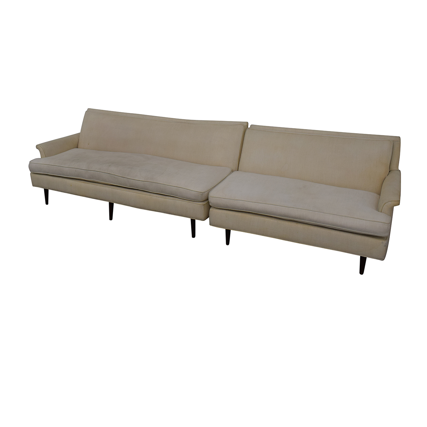 buy Vintage Linen Sofa  Sectionals