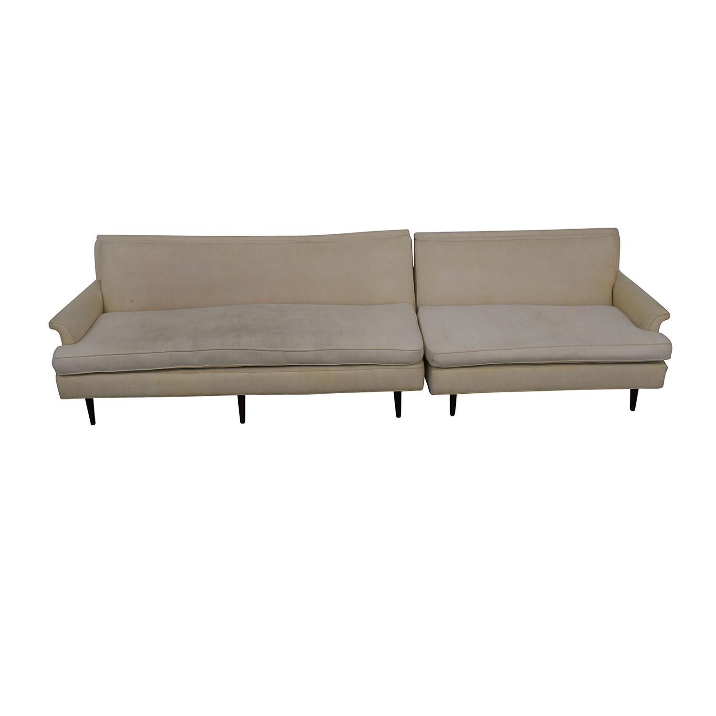 Vintage Linen Sofa coupon