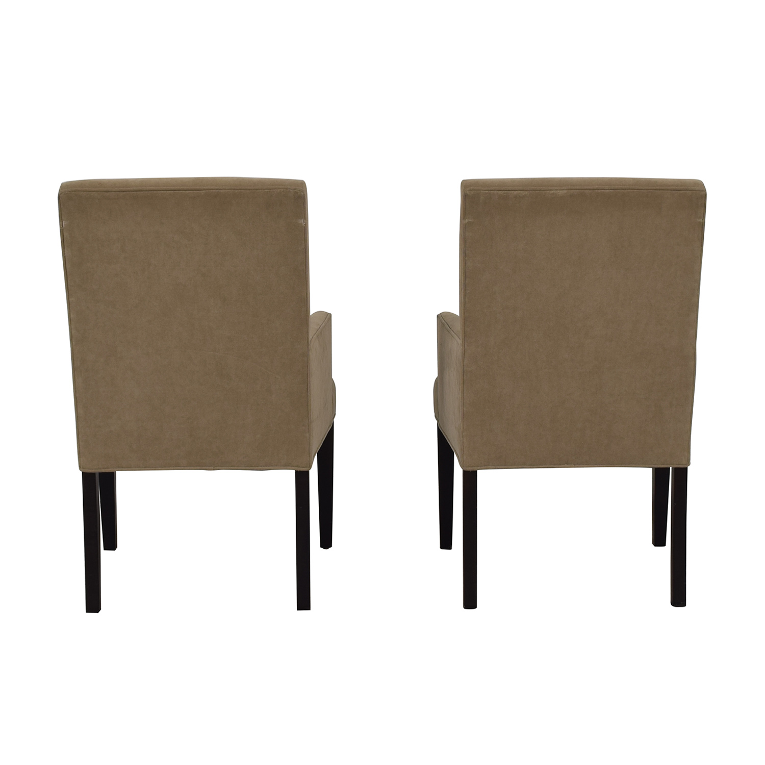Crate & Barrel Crate & Barrel Tan Dining Chairs used