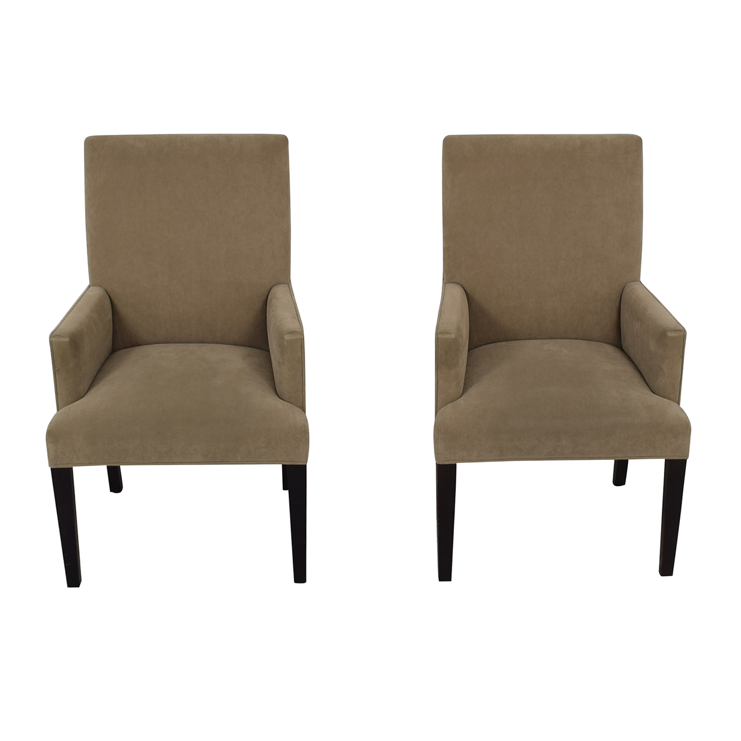 buy Crate & Barrel Crate & Barrel Tan Dining Chairs online