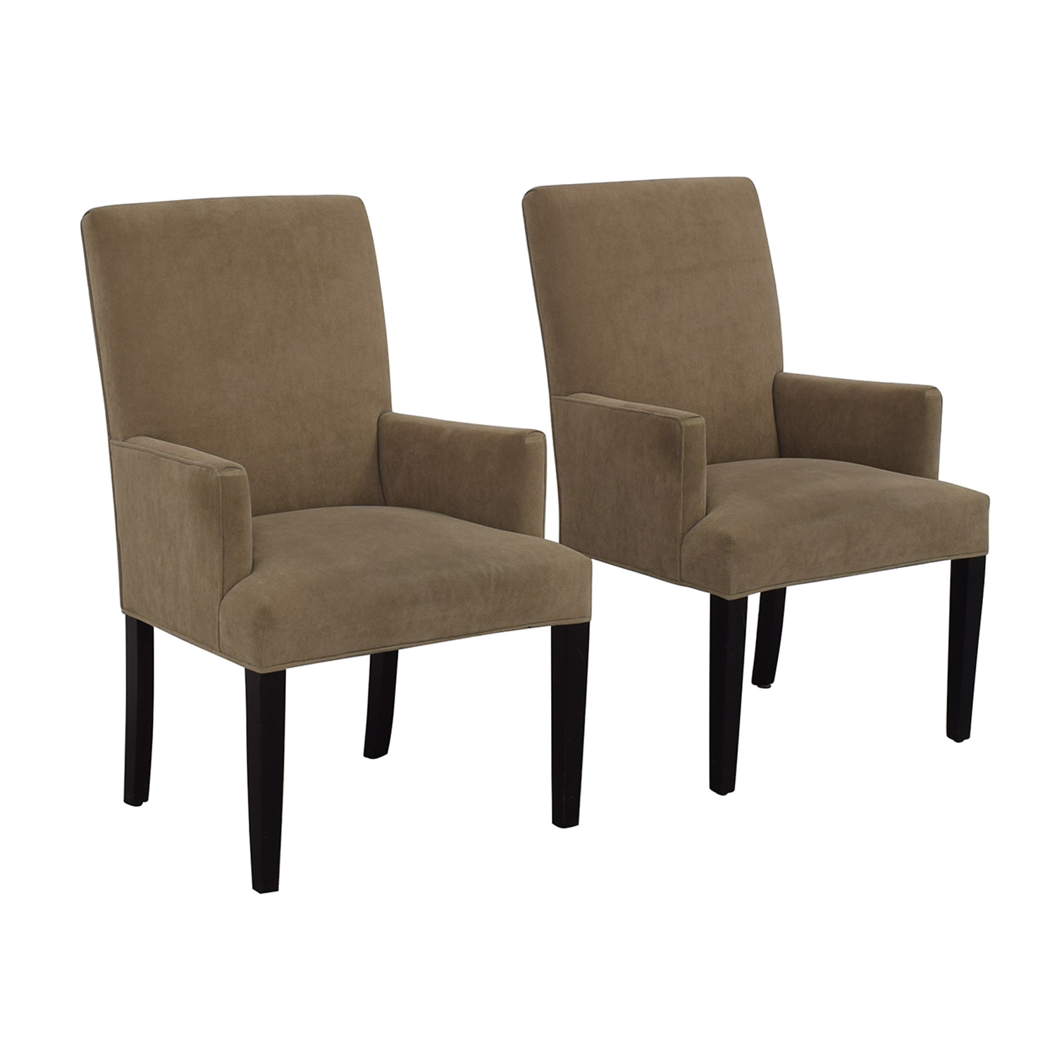 Crate & Barrel Crate & Barrel Tan Dining Chairs price