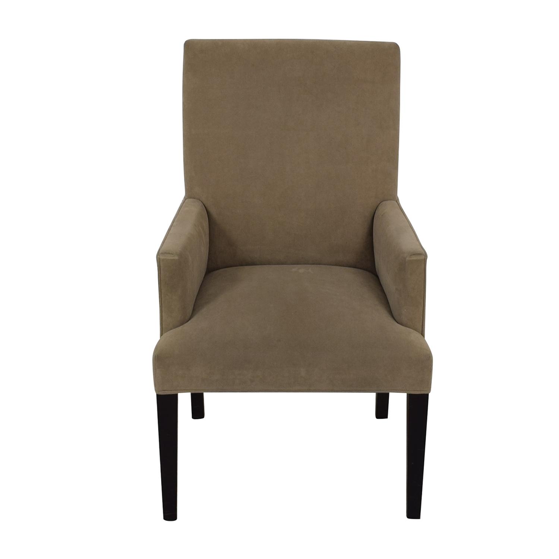 Crate & Barrel Crate & Barrel Tan Dining Chair dimensions