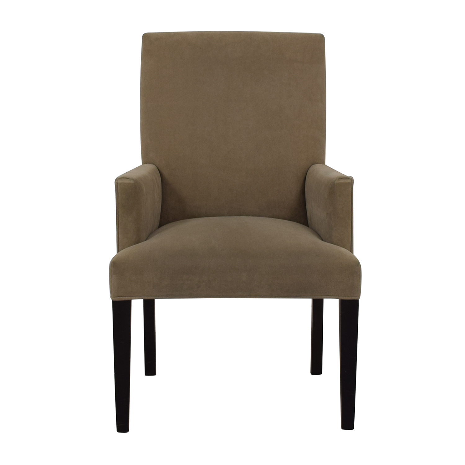 Crate & Barrel Crate & Barrel Tan Dining Chair Dining Chairs