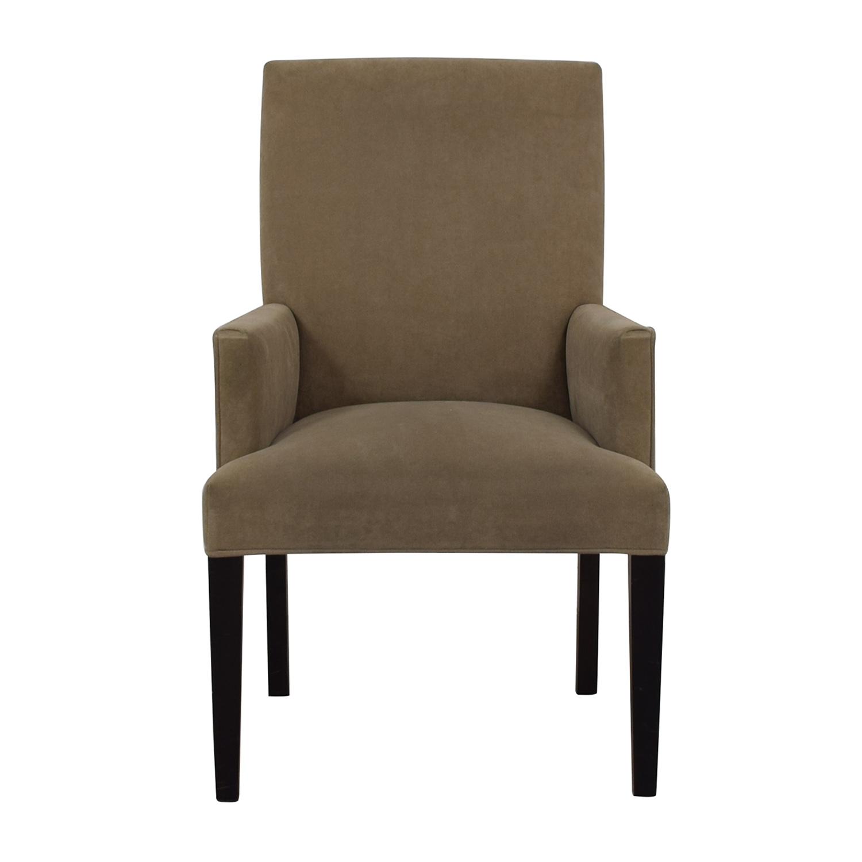 shop Crate & Barrel Crate & Barrel Tan Dining Chair online