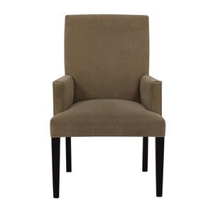 Crate & Barrel Crate & Barrel Tan Dining Chair price