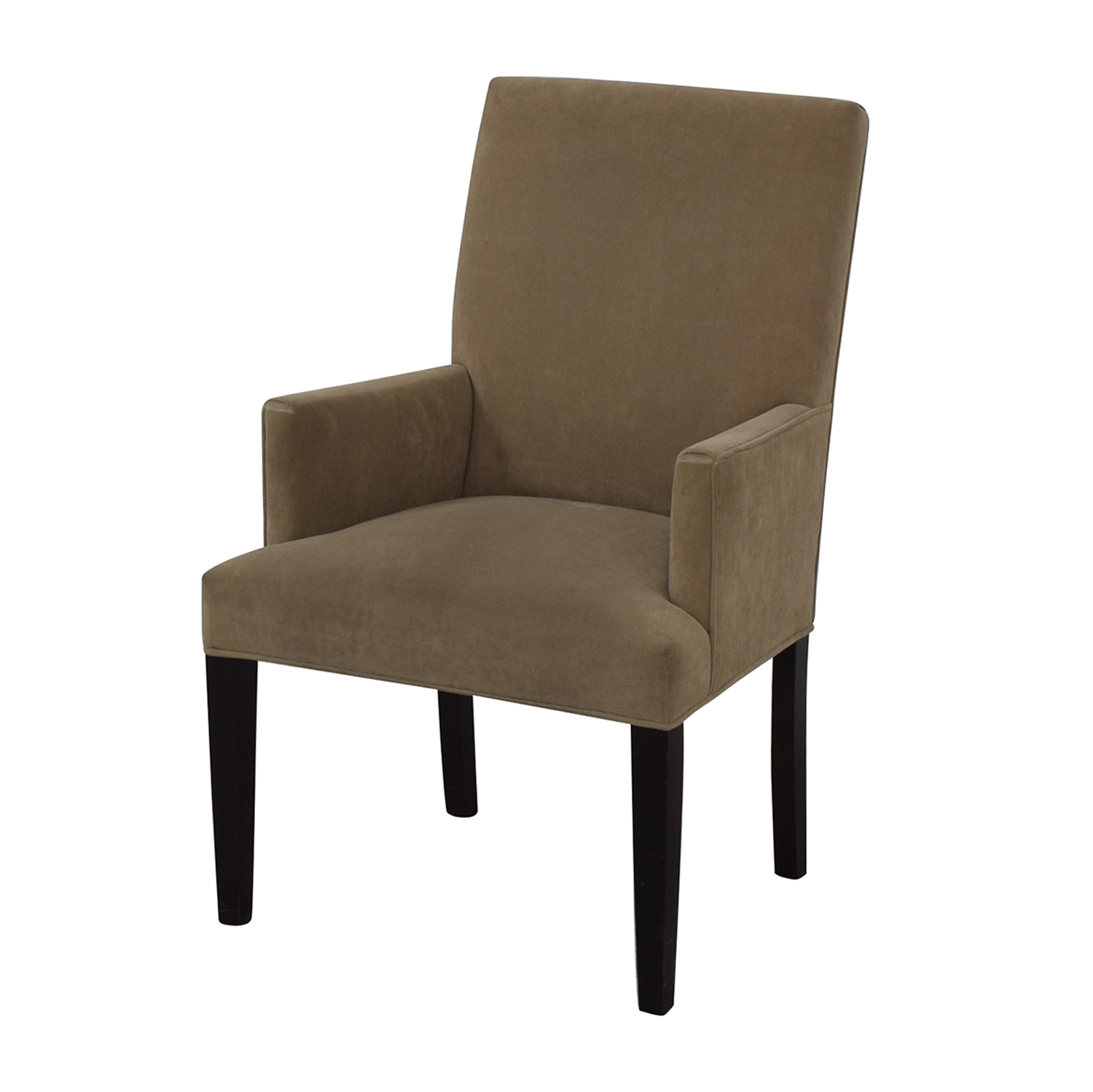 Crate & Barrel Tan Dining Chair / Chairs