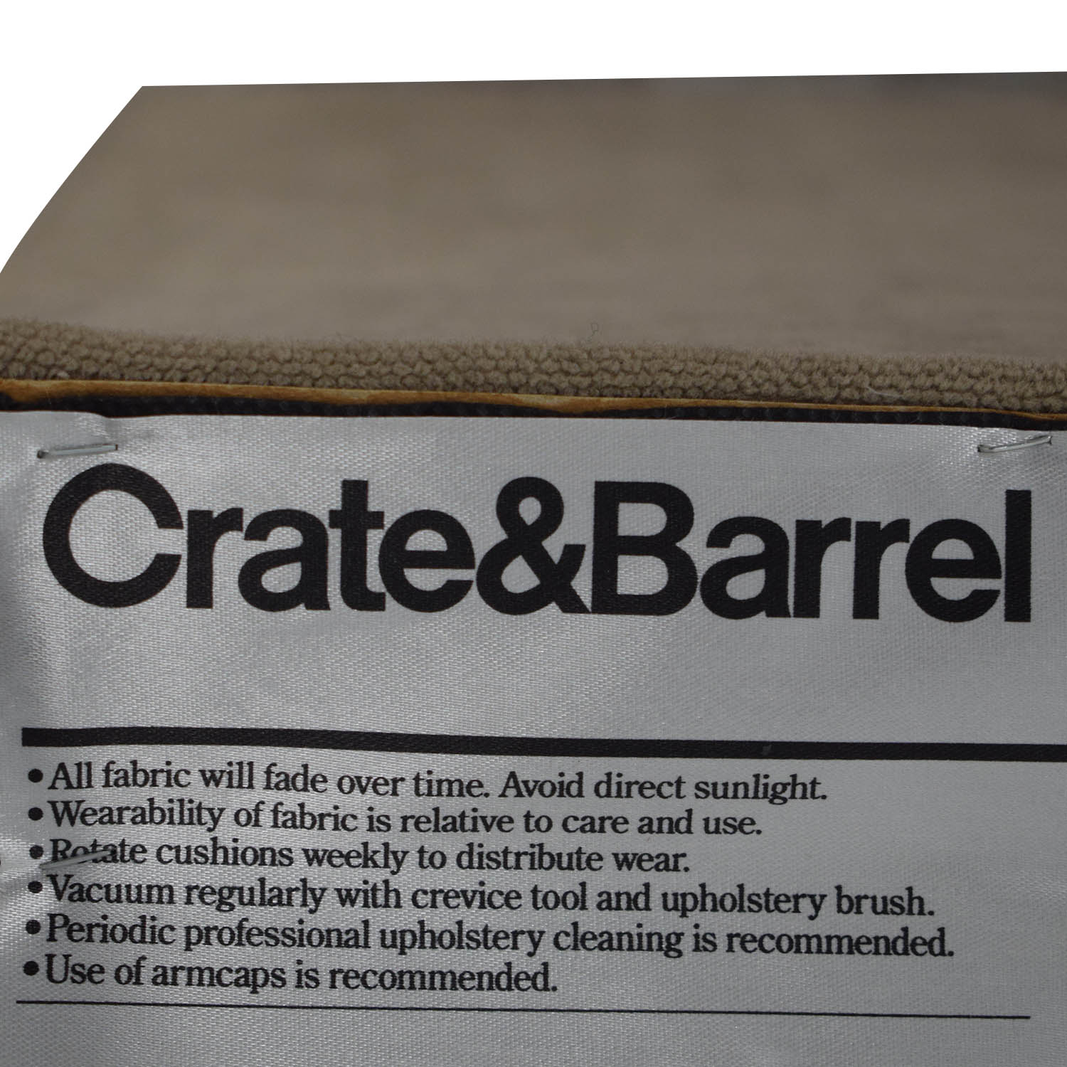 shop Crate & Barrel Tan Dining Chair Crate & Barrel Chairs