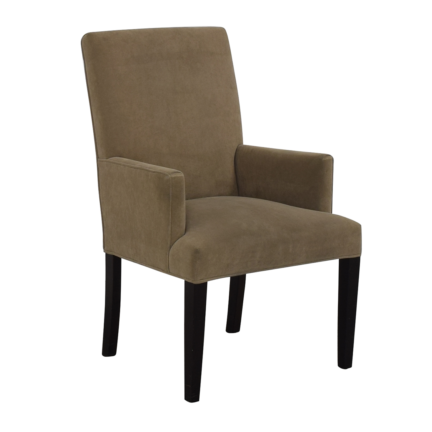 buy Crate & Barrel Tan Dining Chair Crate & Barrel Chairs