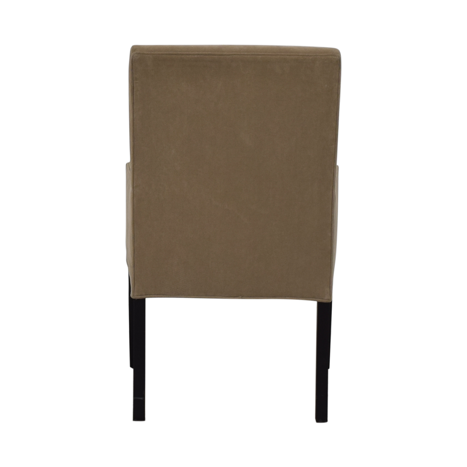 Crate & Barrel Crate & Barrel Tan Dining Chair used