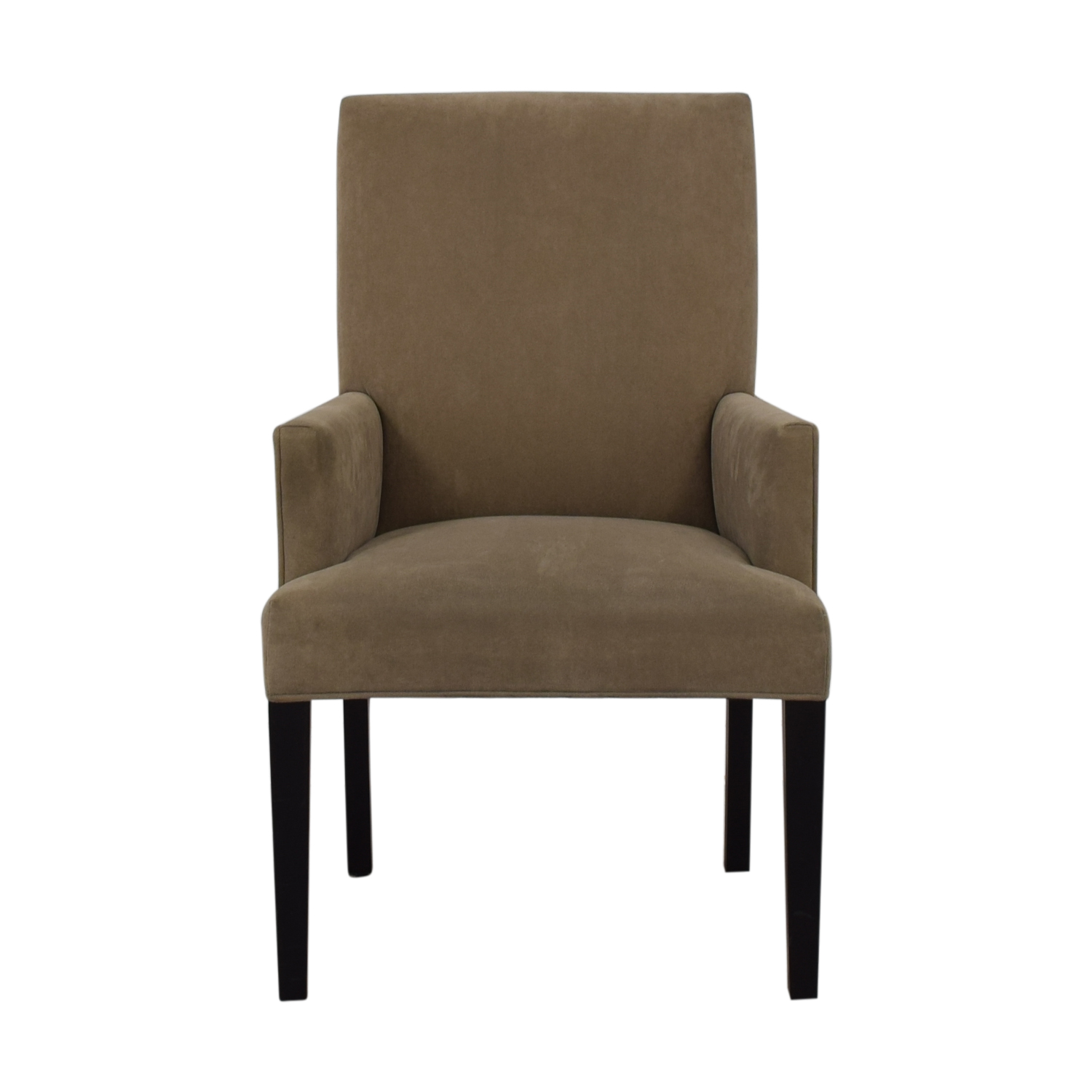 Crate & Barrel Crate & Barrel Tan Dining Chair for sale