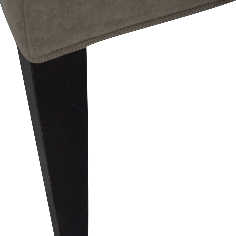 Crate & Barrel Crate & Barrel Tan Dining Chair nj