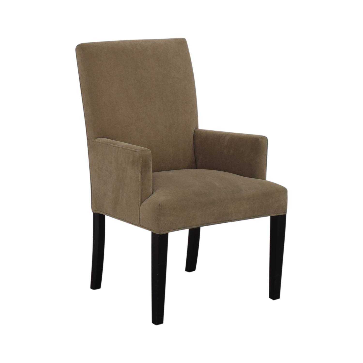 Crate & Barrel Crate & Barrel Tan Dining Chair second hand
