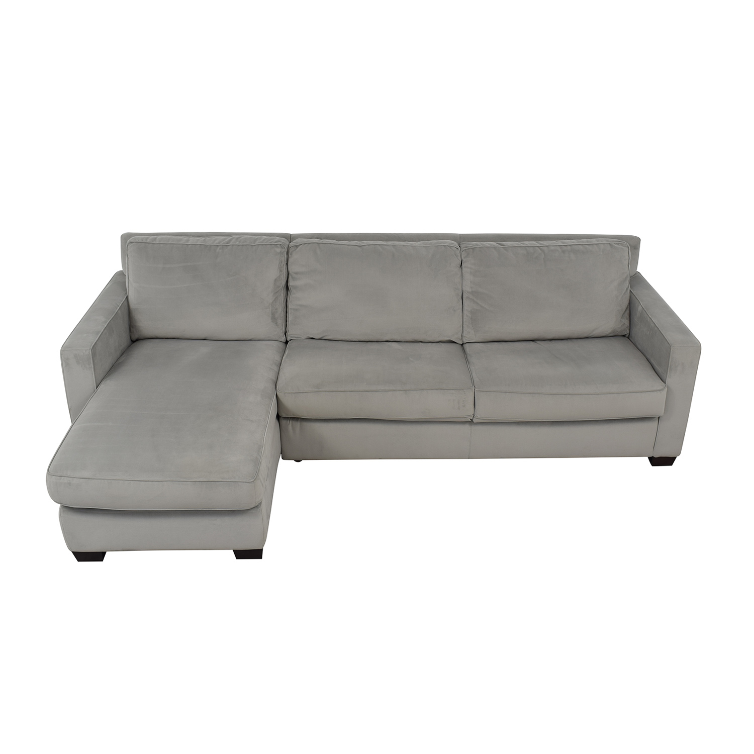 64 Off West Elm West Elm Henry Queen Sleeper Sofa With Left Arm Chaise Sofas