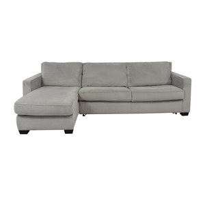 shop West Elm Henry Queen Sleeper Sofa with Left Arm Chaise West Elm Sofas