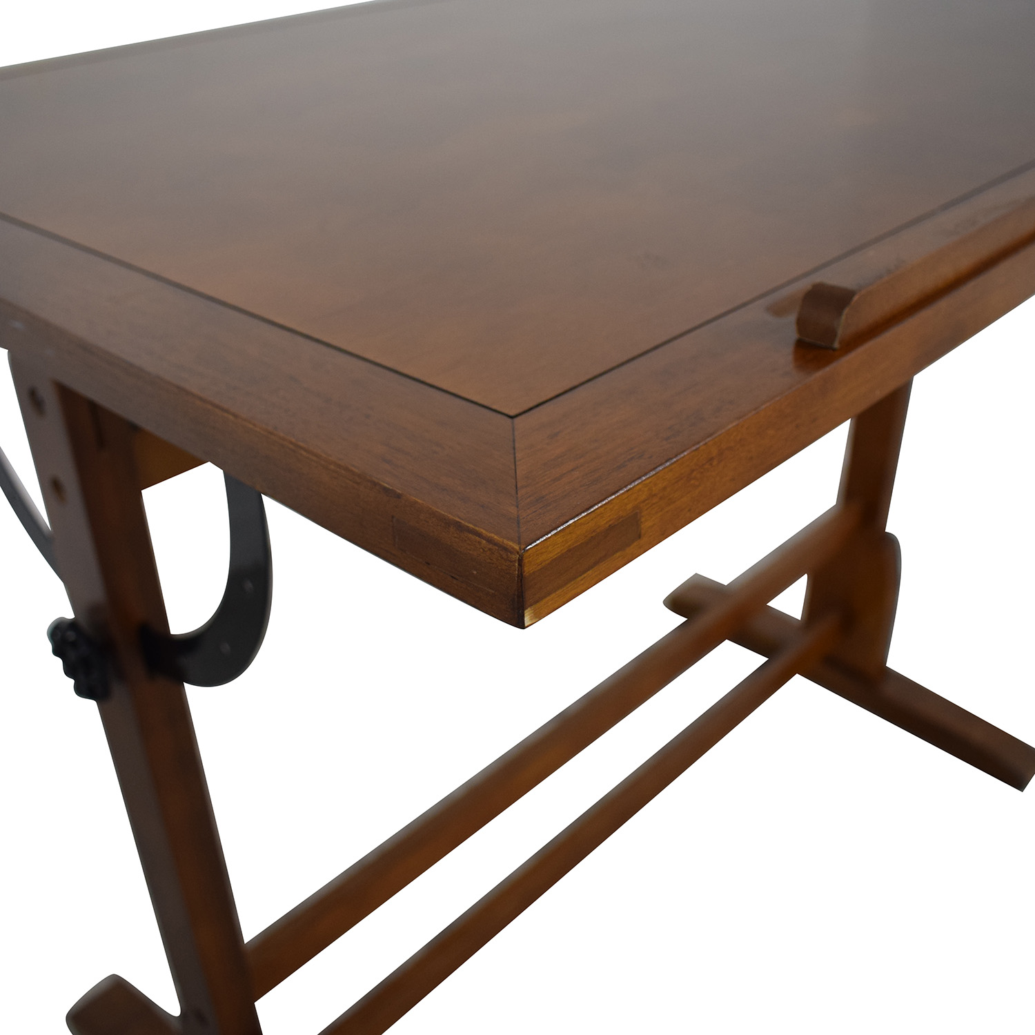 shop Wood Drafting Desk  Utility Tables