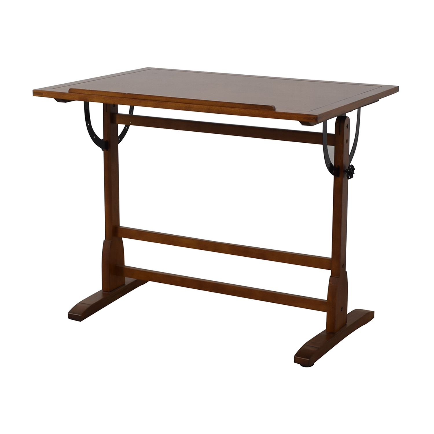 shop Wood Drafting Desk
