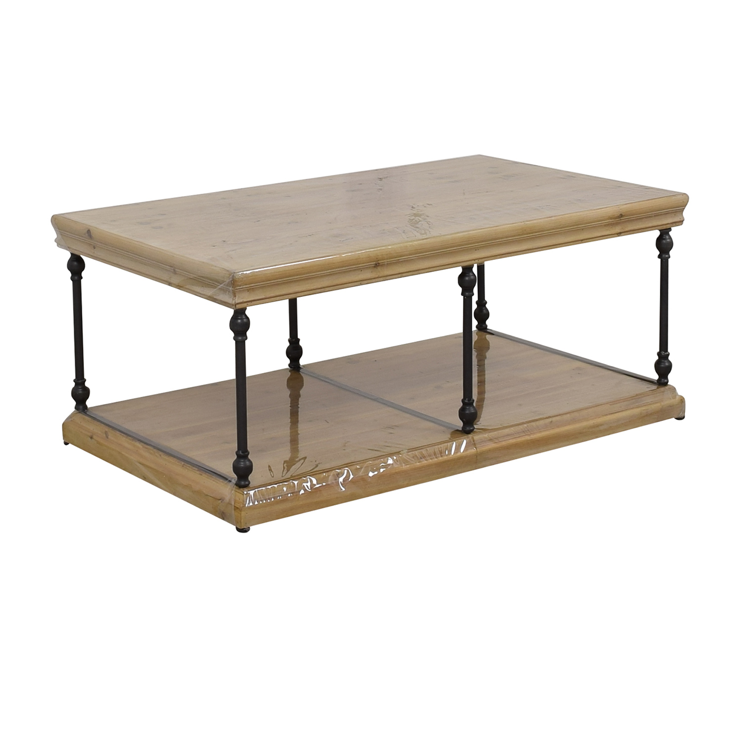 Wood & Iron Coffee Table discount