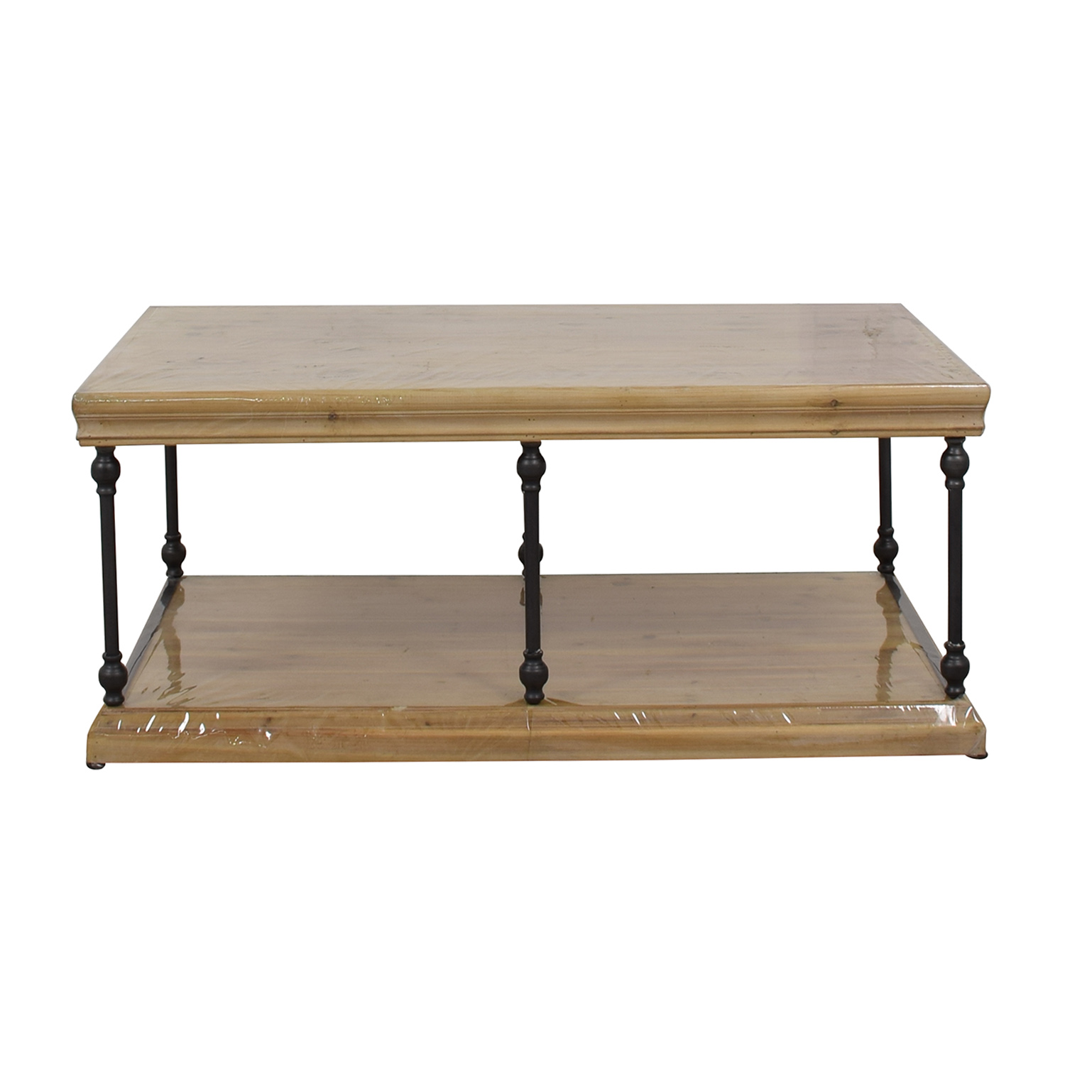 buy Wood & Iron Coffee Table