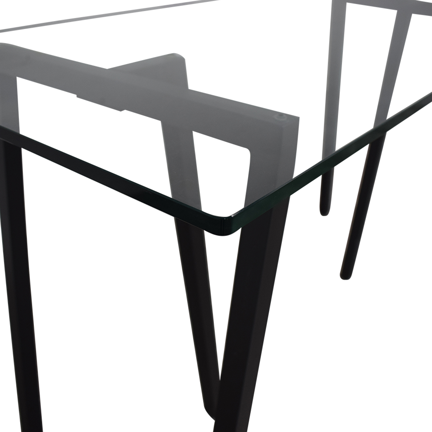 shop West Elm Glass Desk West Elm Dinner Tables