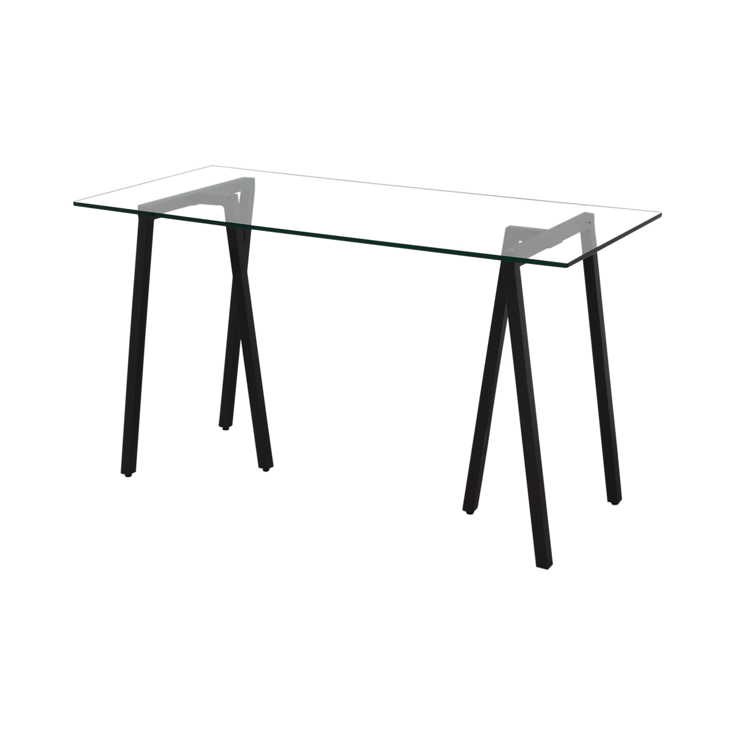 West Elm Glass Desk / Dinner Tables